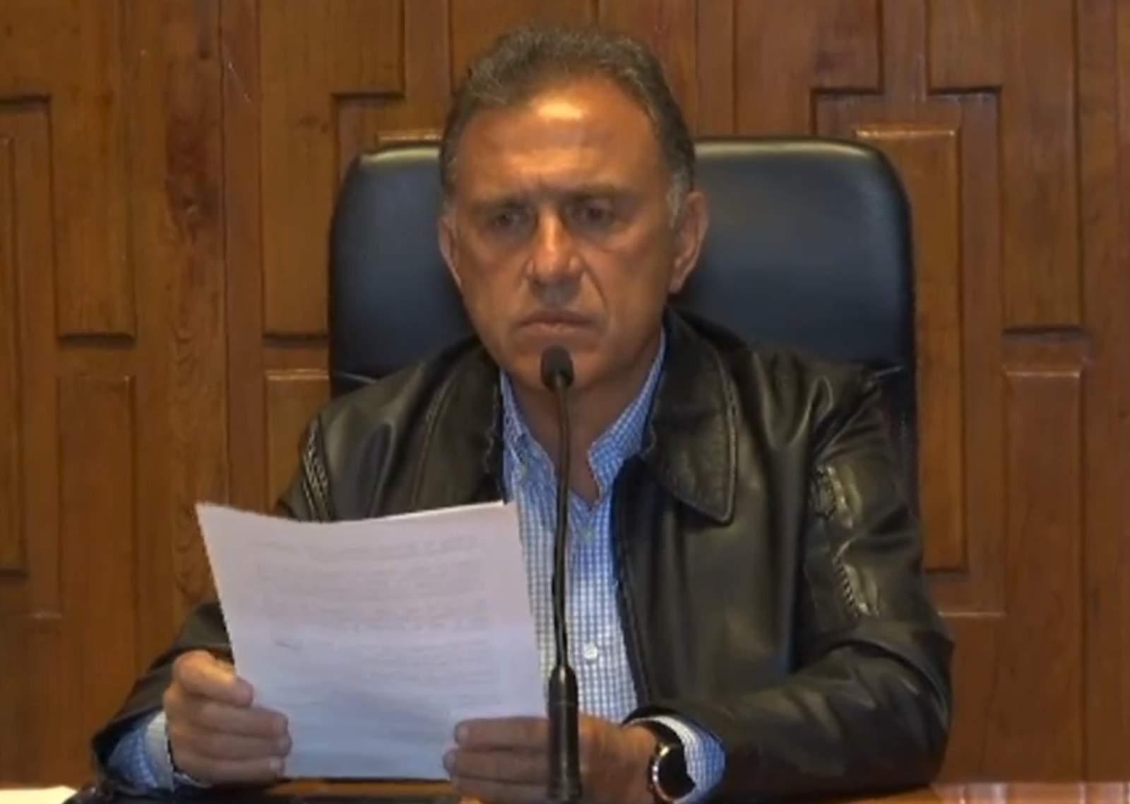 Presunto asesino de hija de diputada apareció muerto: Yunes; dice que la confundieron