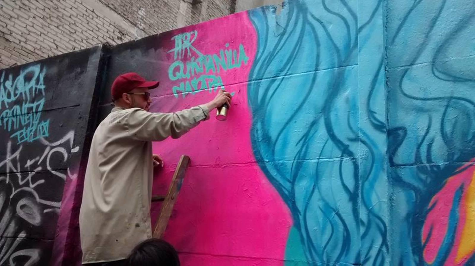 Inaugurarán la tercera intervención al mural