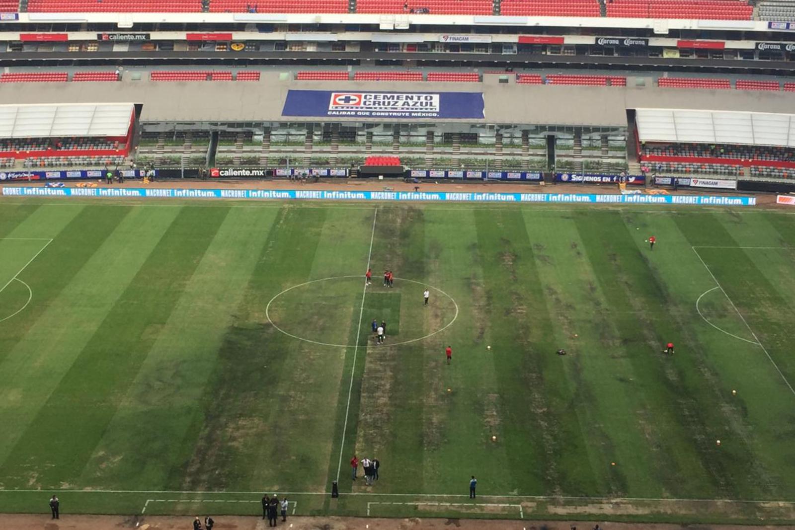 El Azteca, en malas condiciones previo a NFL