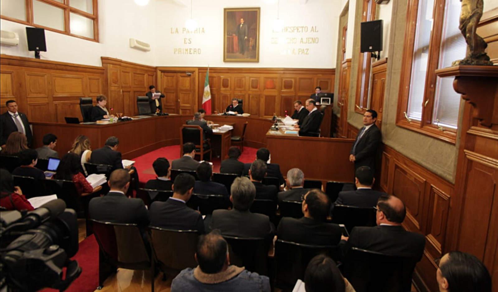 Corte inicia discusión sobre Ley de Seguridad Interior