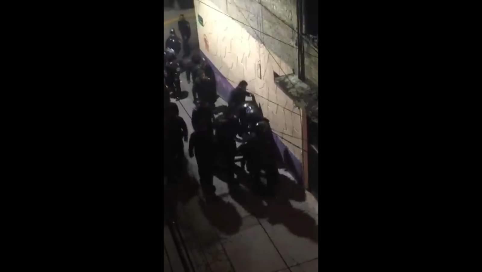 Policía iniciará investigación interna sobre actos represivos