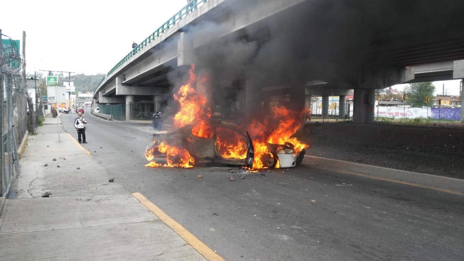 Nuevo bloqueo en Río de los Remedios camino a San Juanico