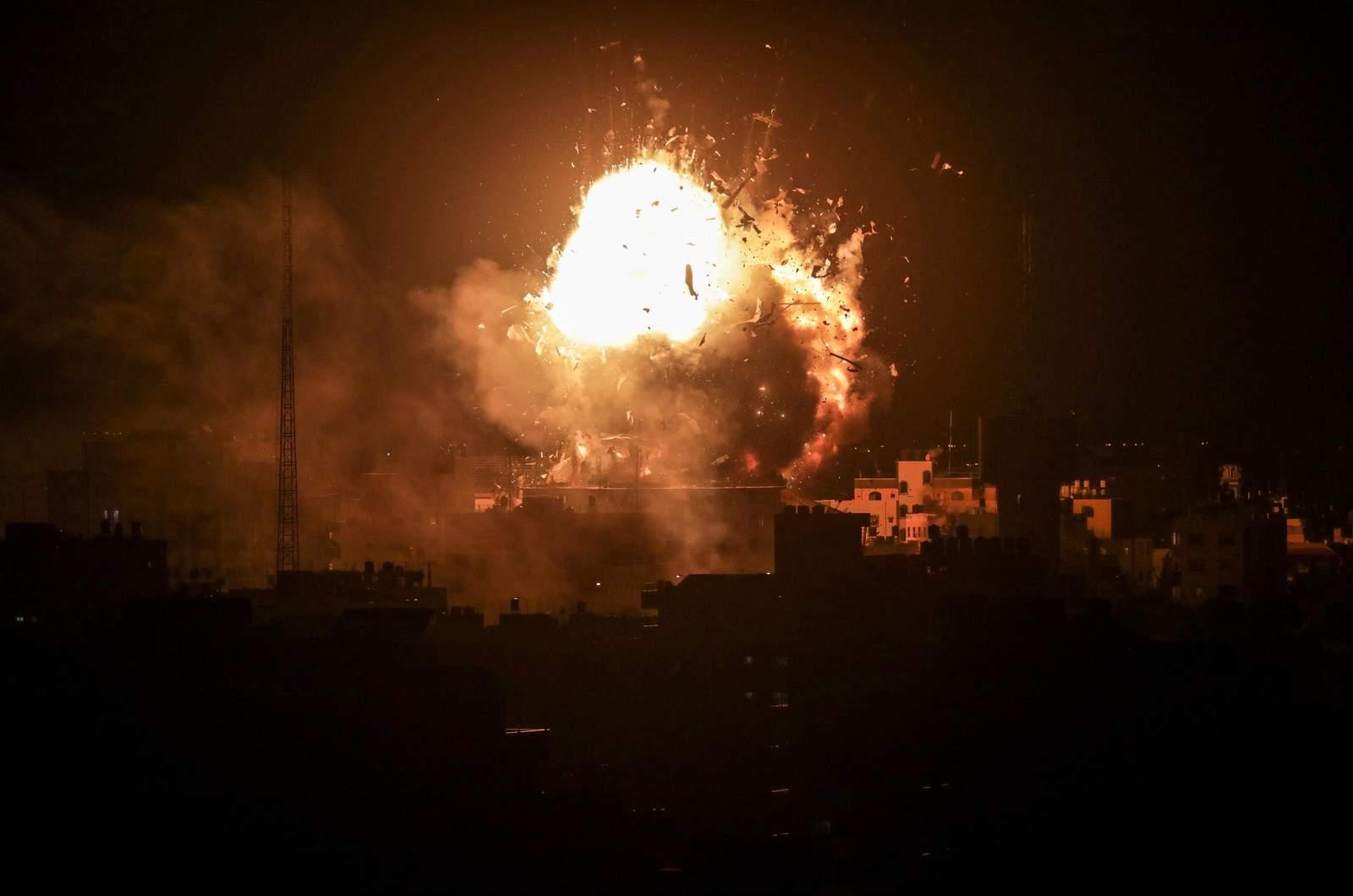 Sigue lanzamiento de cohetes de Gaza a Israel tras 300 en siete horas