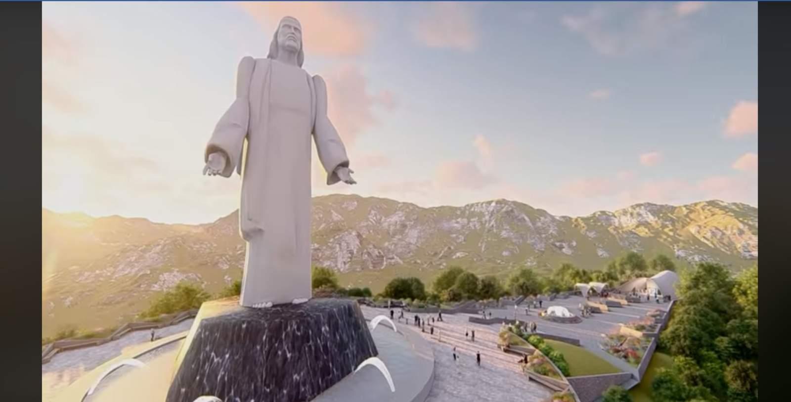 Tendrá Nuevo León un Cristo más alto que el de Brasil