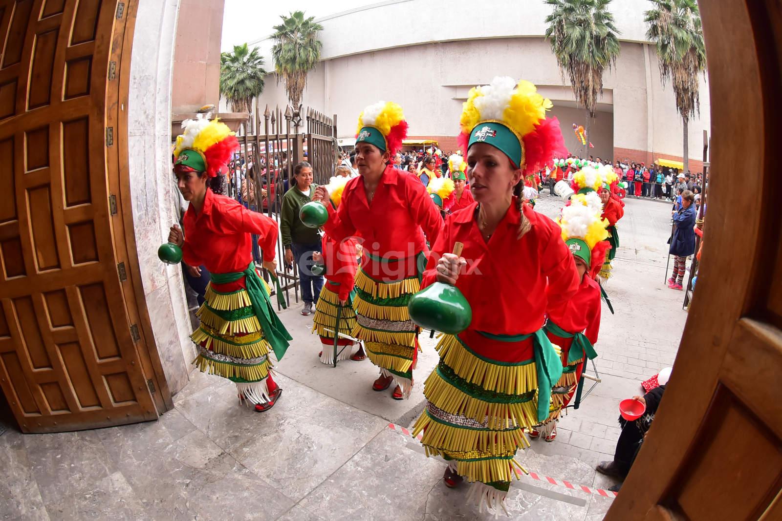Inician peregrinaciones en Torreón con bendición de danzas
