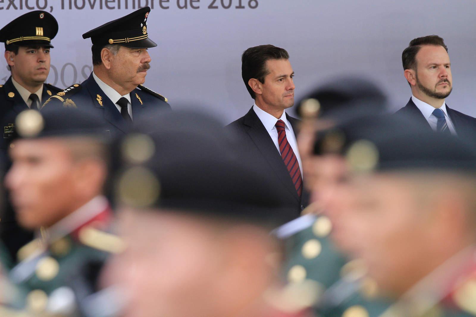 EPN llama a guardias presidenciales a contribuir con lealtad