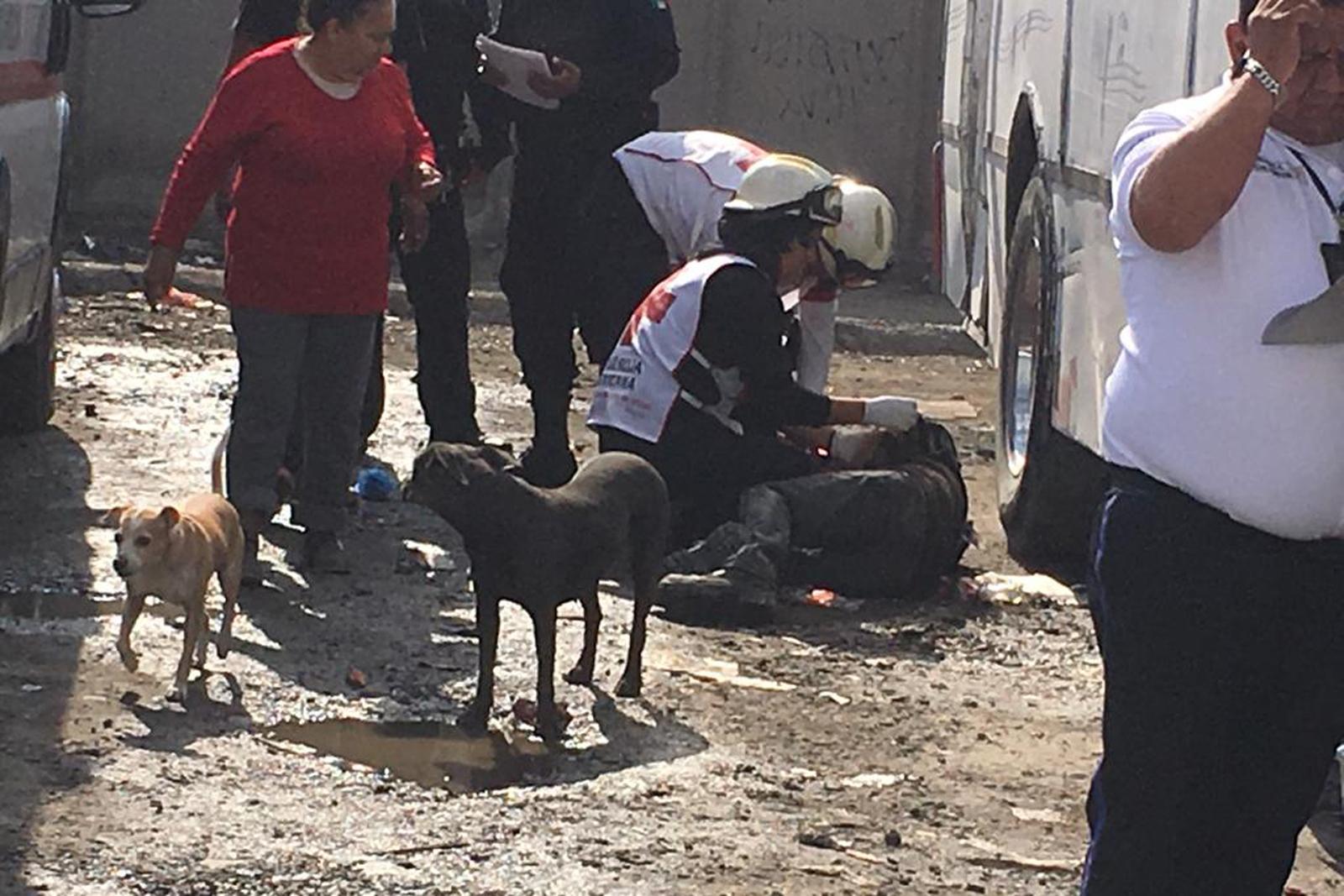 Arrollan a un pepenador en Torreón