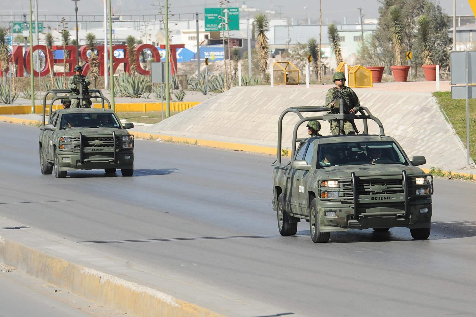 Gobierno federal envía tropas a Coahuila