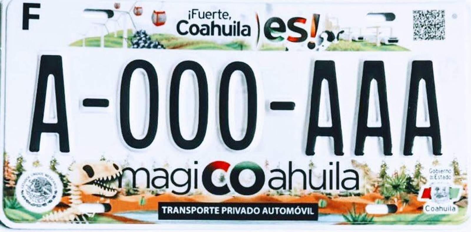 Arranca el canje de placas en Coahuila