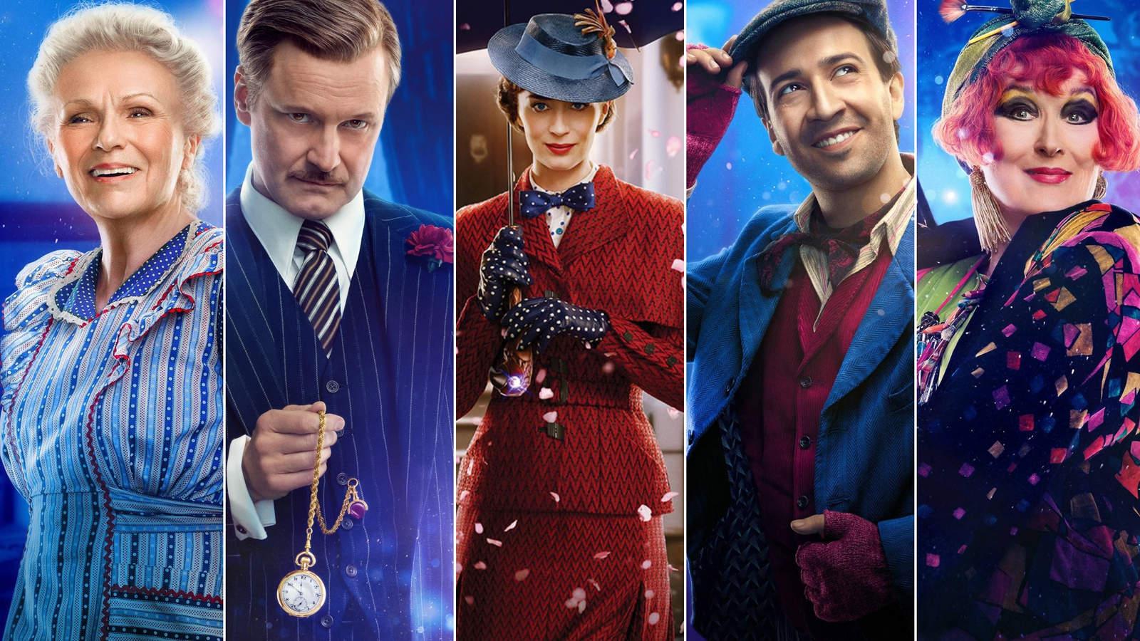 ¿Quién es quién en El regreso de Mary Poppins?