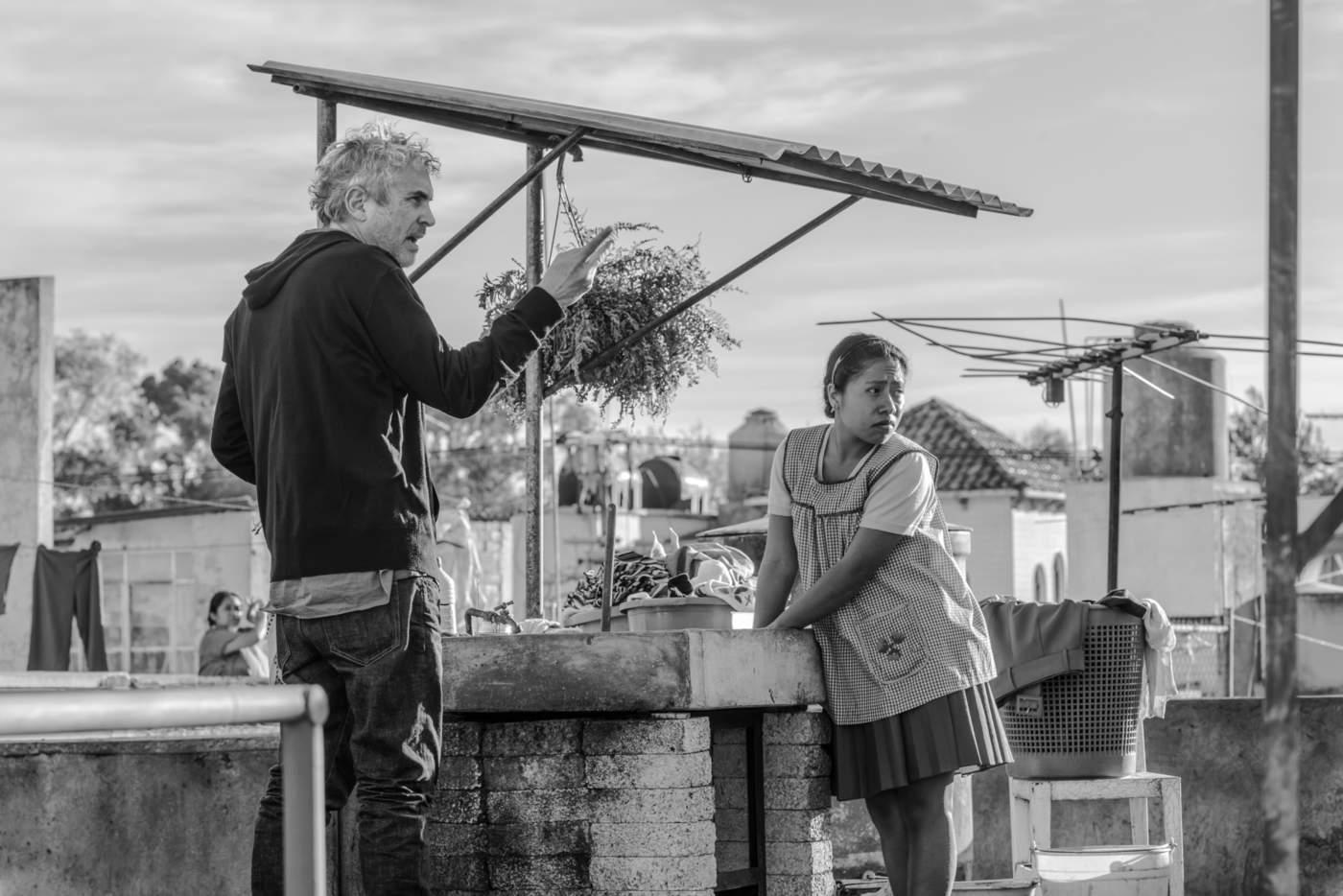 La película Roma de Alfonso Cuarón logró 10 nominaciones al Óscar. (ARCHIVO)