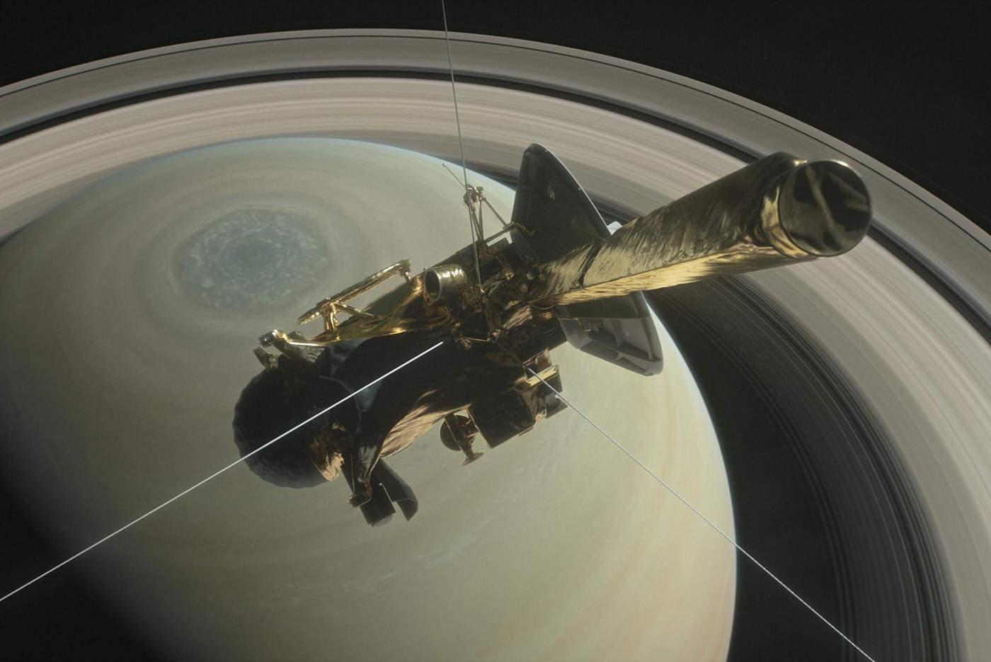 Un grupo de investigadores determinó que la duración de un día en Saturno es de 10 horas, 33 minutos y 38 segundos. (ARCHIVO)