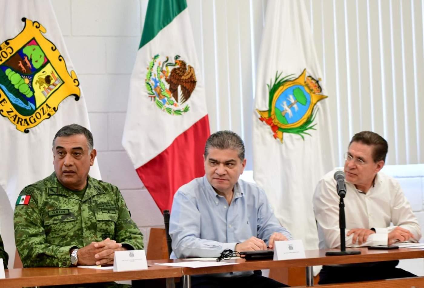 En lo que respecta al tema de la Guardia Nacional, ambos mandatarios solicitaron que se apruebe dicho proyecto que vendrá a fortalecer aún más las acciones de seguridad en ambos estados y en la Comarca Lagunera en particular. (ESPECIAL)