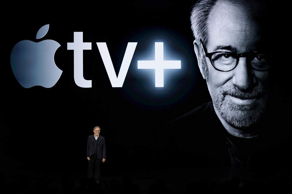 Steven Spielberg anuncia que creará contenido para Apple TV Plus. (AP)