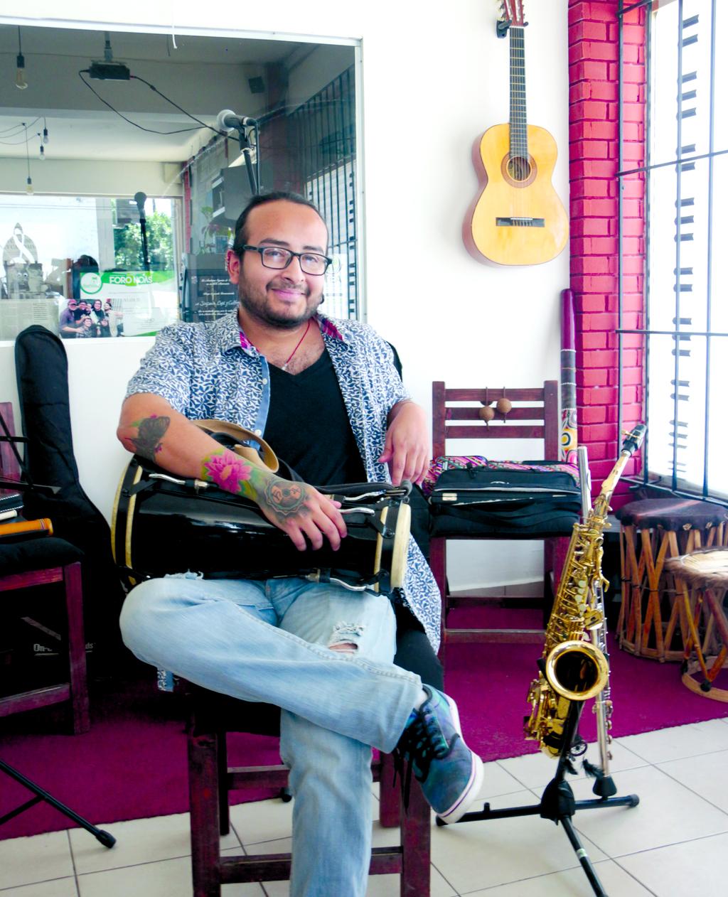 Formación. Calandrelli 'educó' su oído con la biblioteca musical de sus padres. (El Siglo de Torreón / Ana Sofía Mendoza)