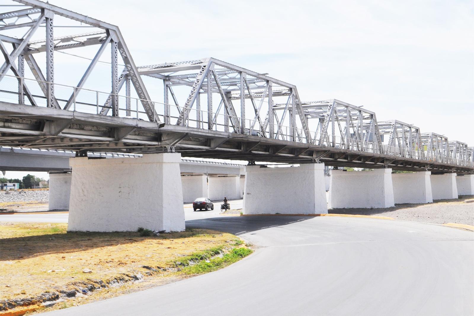 El puente plateado es un símbolo de identidad lagunera. (EL SIGLO DE TORREÓN)