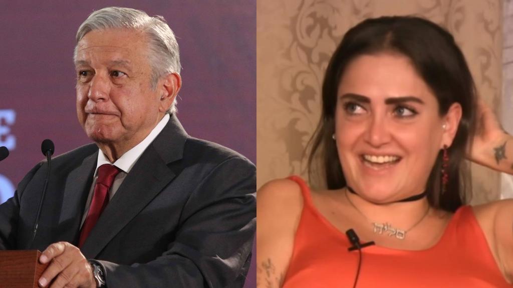 Lora acudió al programa de Adela Micha de nombre La Saga y fue ahí donde tundió a AMLO, situación que la ha llevado a ser tendencia hoy en redes sociales. (ESPECIAL)