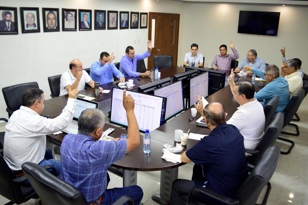 Sesión de Consejo del Simas Acuña (EL SIGLO)