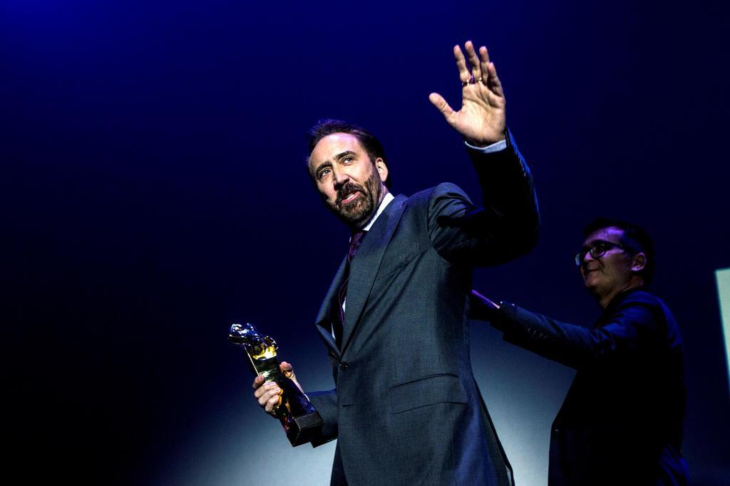 Por una sinusitis aguda Nicolas Cage canceló su asistencia al Festival Internacional de Cine de Guanajuato, que esta noche le rendiría homenaje en esta ciudad. (ARCHIVO)