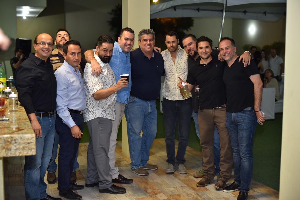 Algunos de los invitados a la celebración.