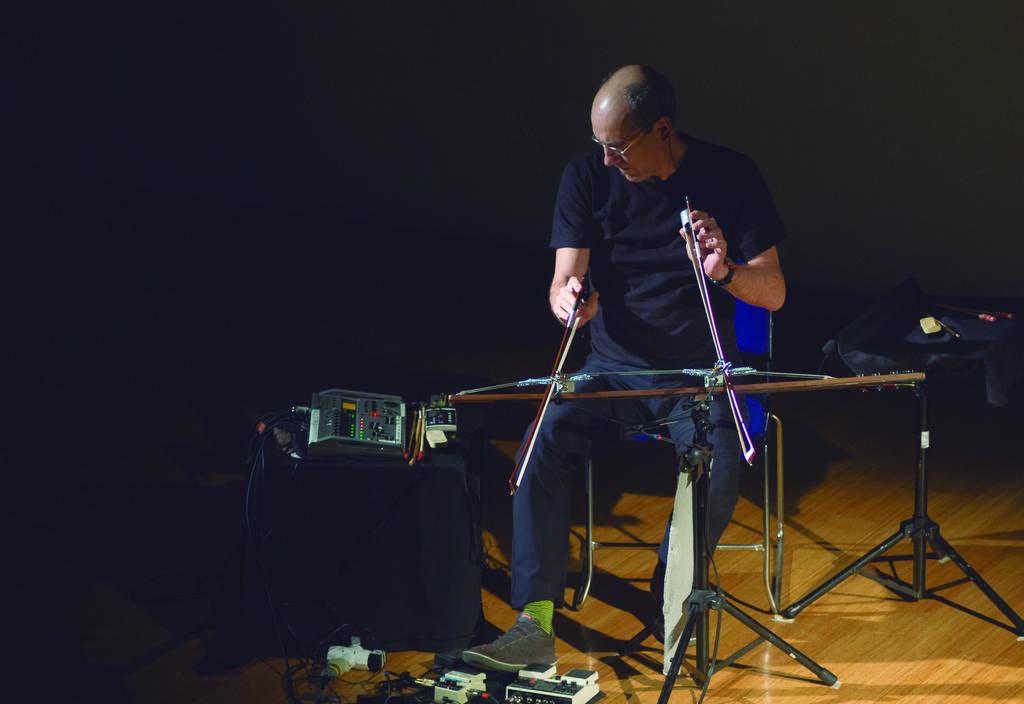 Internacional. Compositores como Riccardo Massari Spiritini (Italia) han arribado al festival con sus propuestas sonoras. (CORTESÍA/ CMMAS)