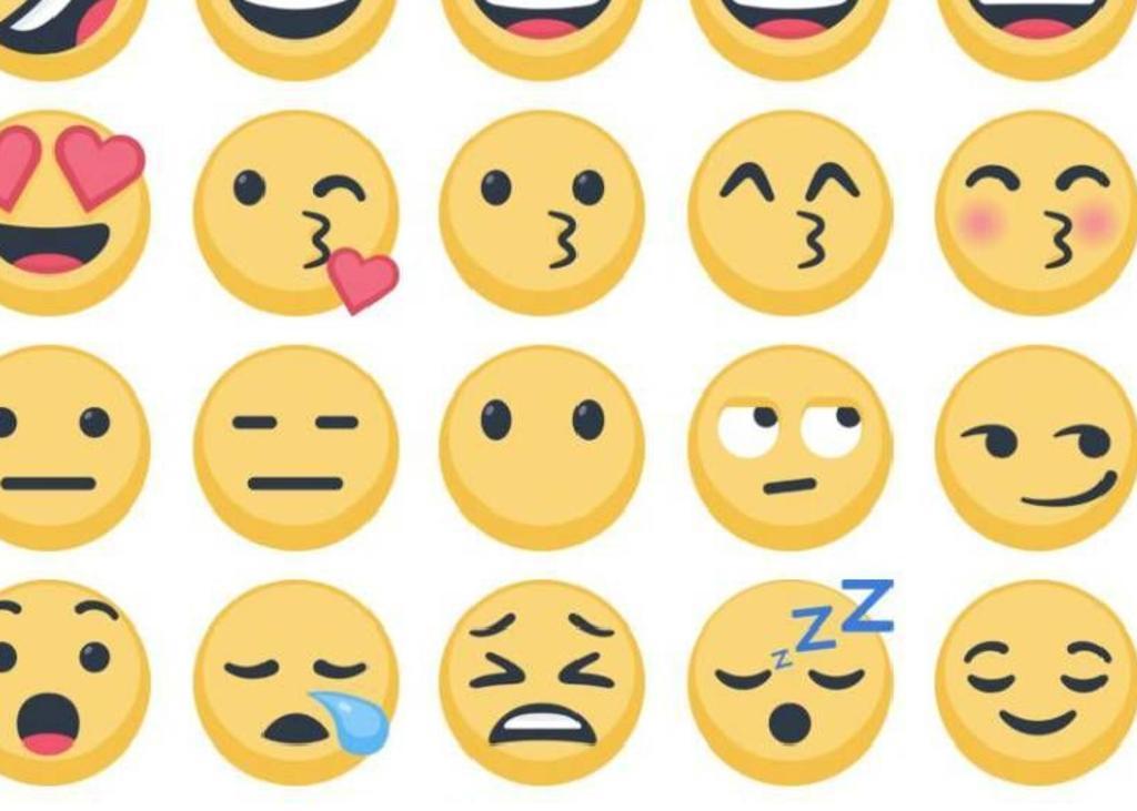 La cara sin boca es uno de los muchos emojis en diversas plataformas de mensajería. (INTERNET)