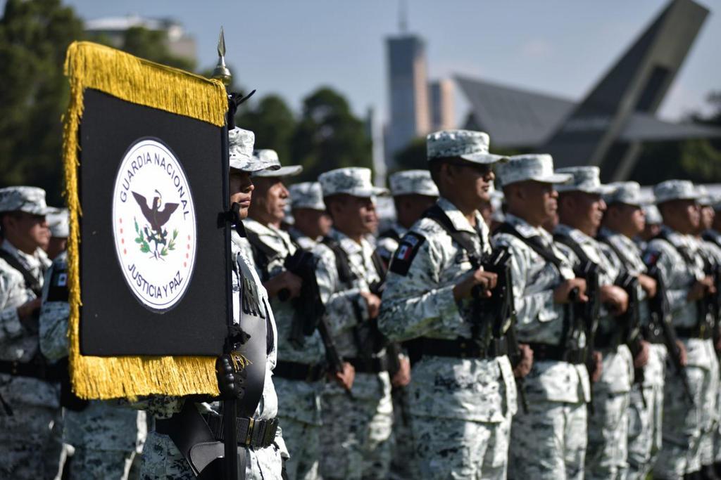 Ven inconsistencias en la estrategia de despliegue de la Guardia Nacional en las primeras 150 coordinaciones regionales del país en las que ya opera para combatir la delincuencia organizada y común. (ARCHIVO)