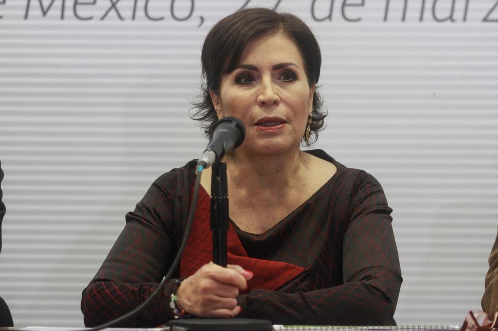 La Secretaría de la Función Pública informó que inhabilitó a la extitular de Desarrollo Social (Sedesol), Rosario Robles, por 10 años. (ARCHIVO)