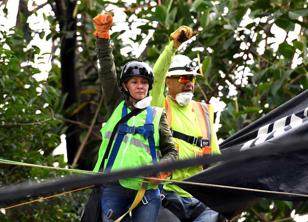 Comunidad. Miles de ciudadanos se unieron a las labores de rescate tras el sismo del 19 de septiembre de 2017. (ARCHIVO)