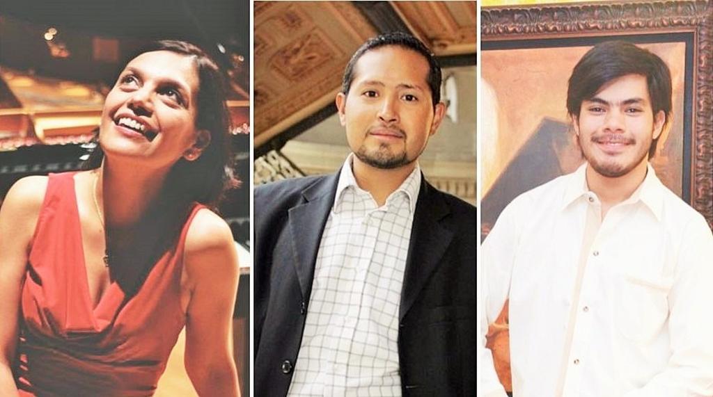 Talento de exportación. Claudia Machuca, Sergio Vázquez y Ricardo Acosta son tres pianistas laguneros que, en la esfera internacional, han puesto en alto el nombre de la región.