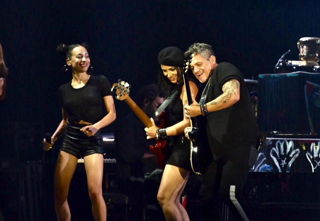 El concierto formó parte del tour #LaGira, que inició recientemente en México(ERICK SOTOMAYOR/ EL SIGLO DE TORREÓN)