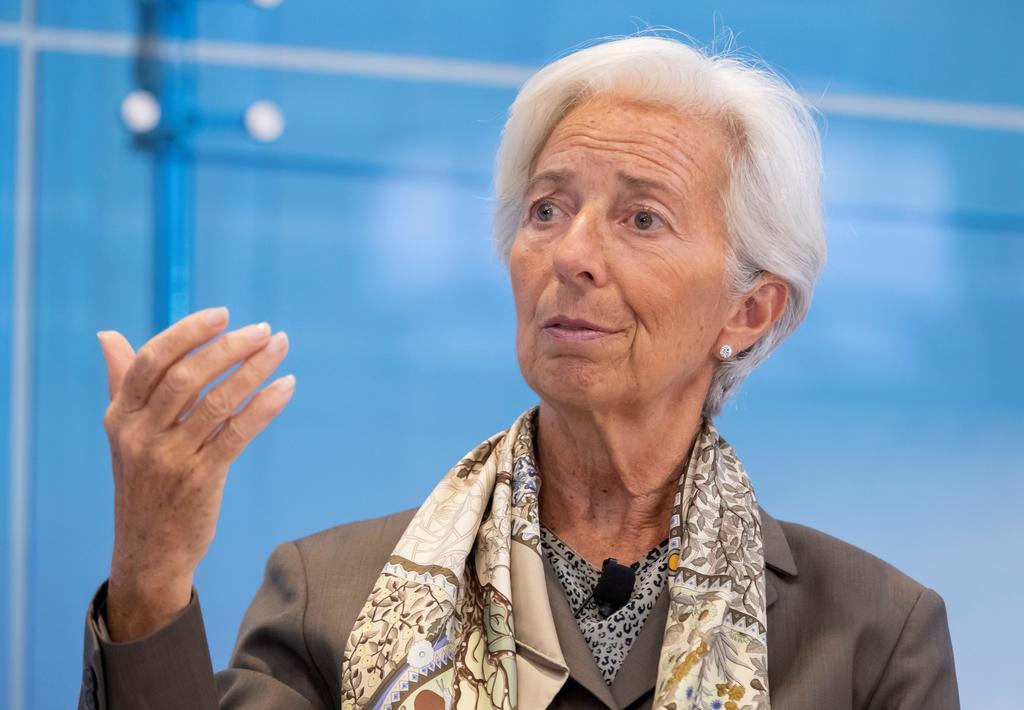 Será la próxima presidenta del Banco Central Europeo (BCE) a partir del 1 de noviembre y se convertirá así en la primera mujer en ocupar este cargo. (ARCHIVO)