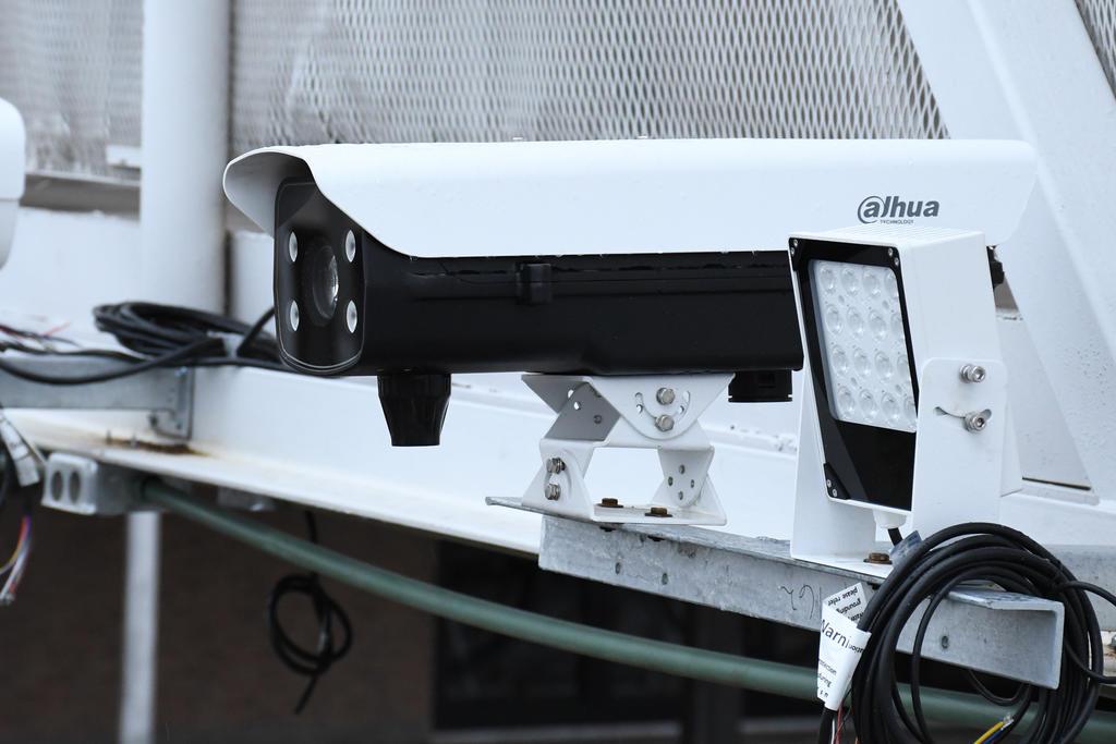El funcionario señaló que se trata de equipos de alta tecnología que tienen cubiertas ya