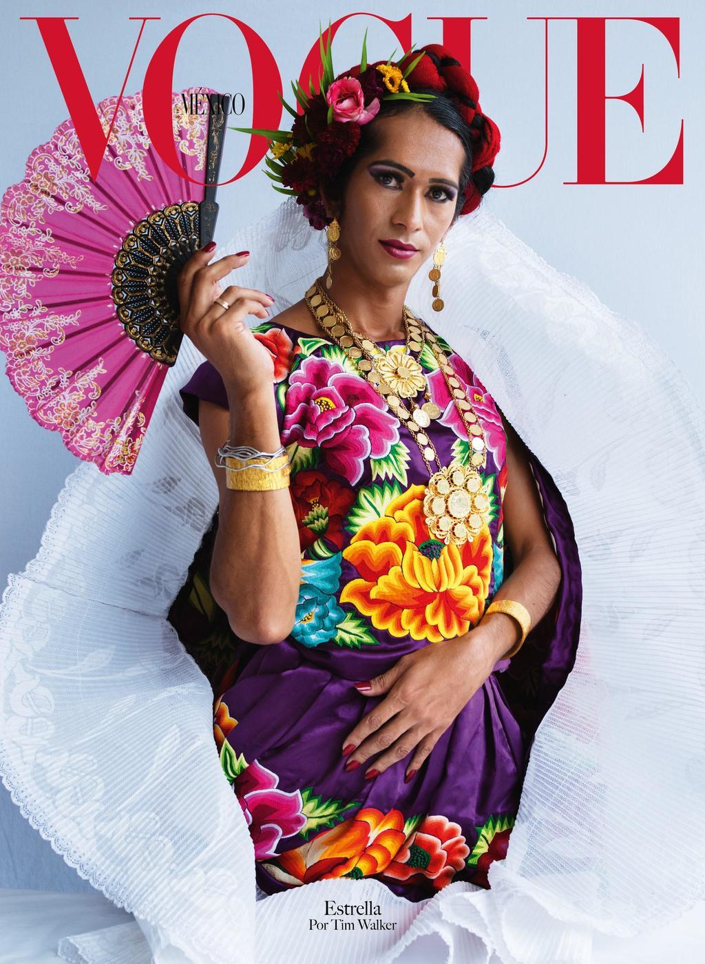 Vogue México celebra sus veinte años con muxes, el tercer género oaxaqueño.