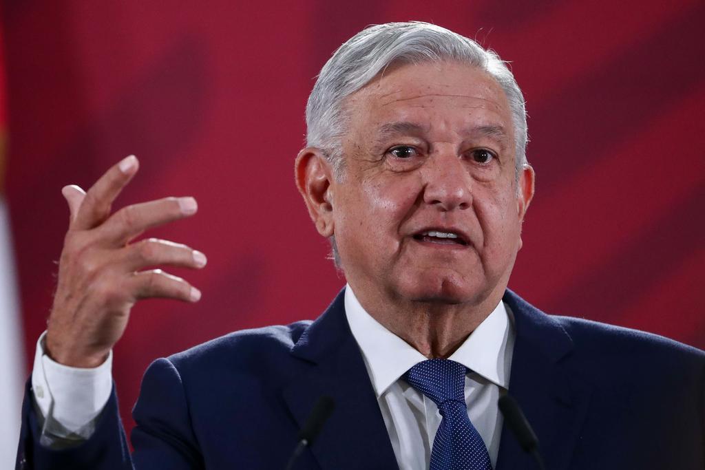 López Obrador rechazó especificar si esta investigación podría ampliarse a otros funcionarios de anteriores administraciones, incluyéndose el expresidente Felipe Calderón.  (ARCHIVO)