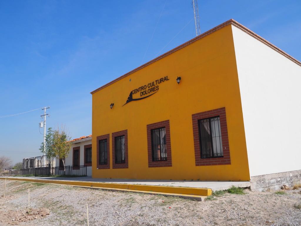 Comunidad. Los centros comunitarios fueron construidos con la idea de crear lazos entre los distintos ejidos de la zona rural de Gómez Palacio. (SAÚL RODRÍGUEZ)