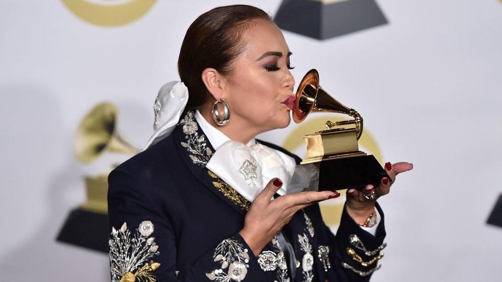 Primera mujer. Aída ganó en 2018 un Grammy por su disco Arrieros somos en la terna de Mejor Álbum de Música Regional Mexicana. (ESPECIAL)