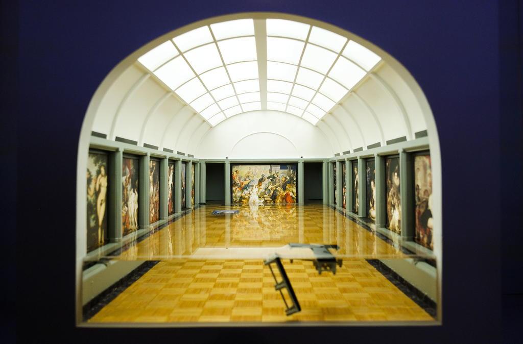 Herramienta. El usuario puede recorrer cuatro salas importantes del lugar e interactuar con sus obras más significantes. (ARCHIVO)