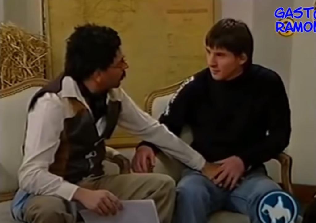 La entrevista se llevó a cabo en 2005. (CAPTURA)