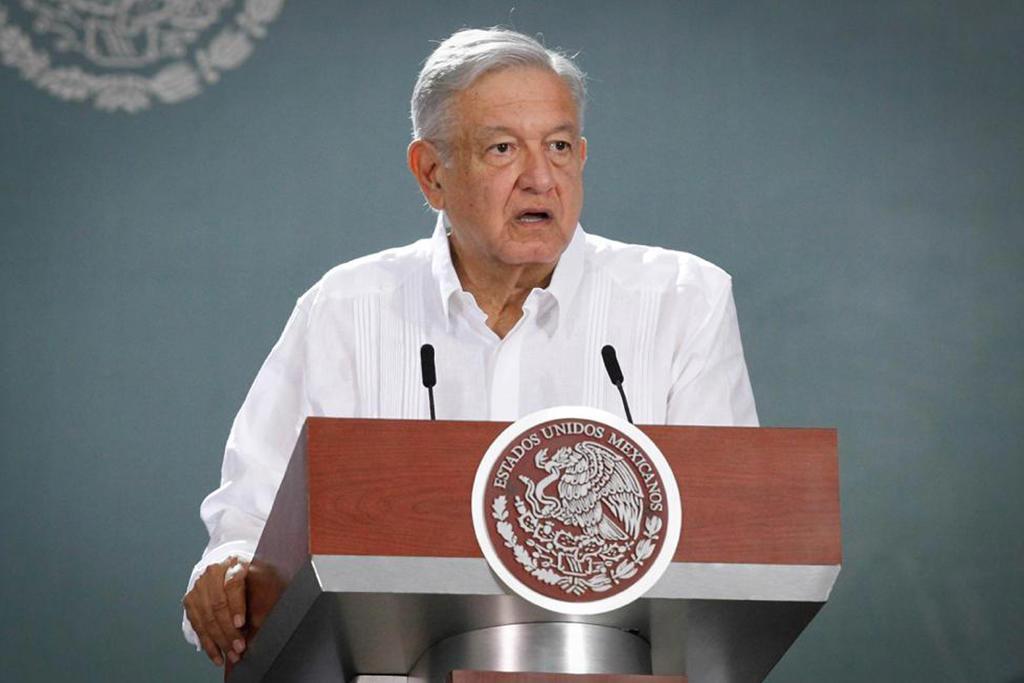 López Obrador pidió a la población quedarse en casa porque la pandemia de COVID-19 sigue avanzando en el país a pesar de que las autoridades anunciaron esta semana el inicio de la  nueva normalidad . (EL UNIVERSAL)