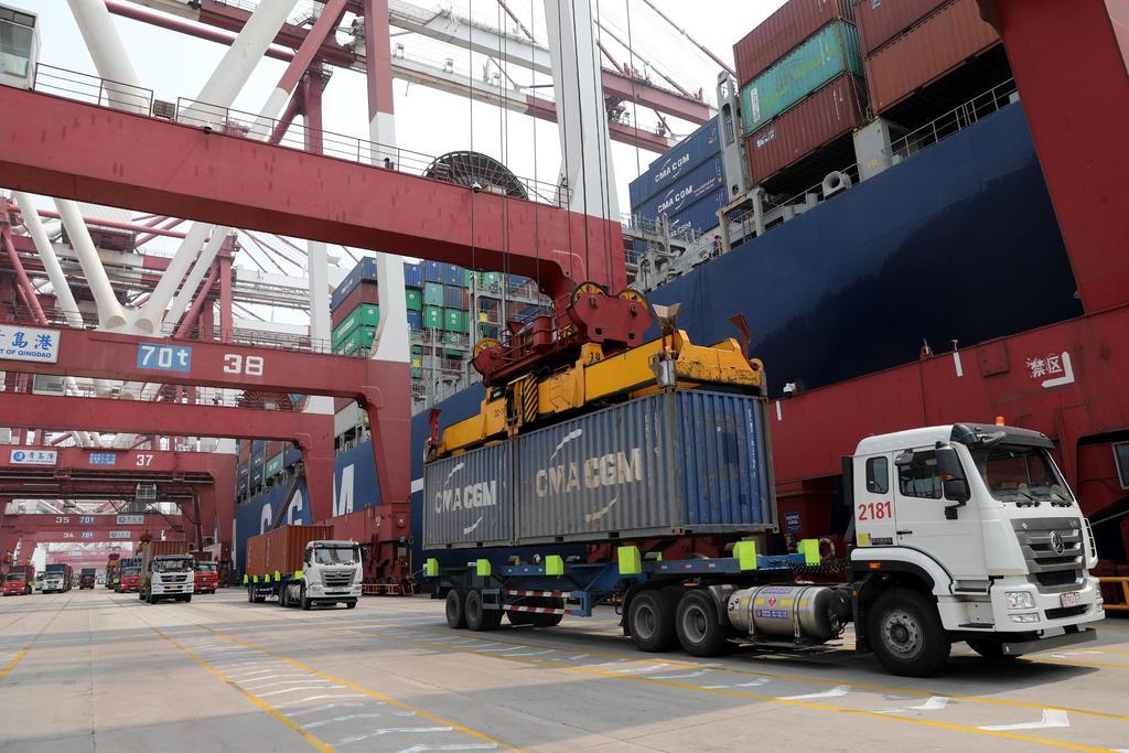 El total acumulado de exportaciones de enero a mayo sumó los 118 mil 252 millones de dólares. (ARCHIVO)