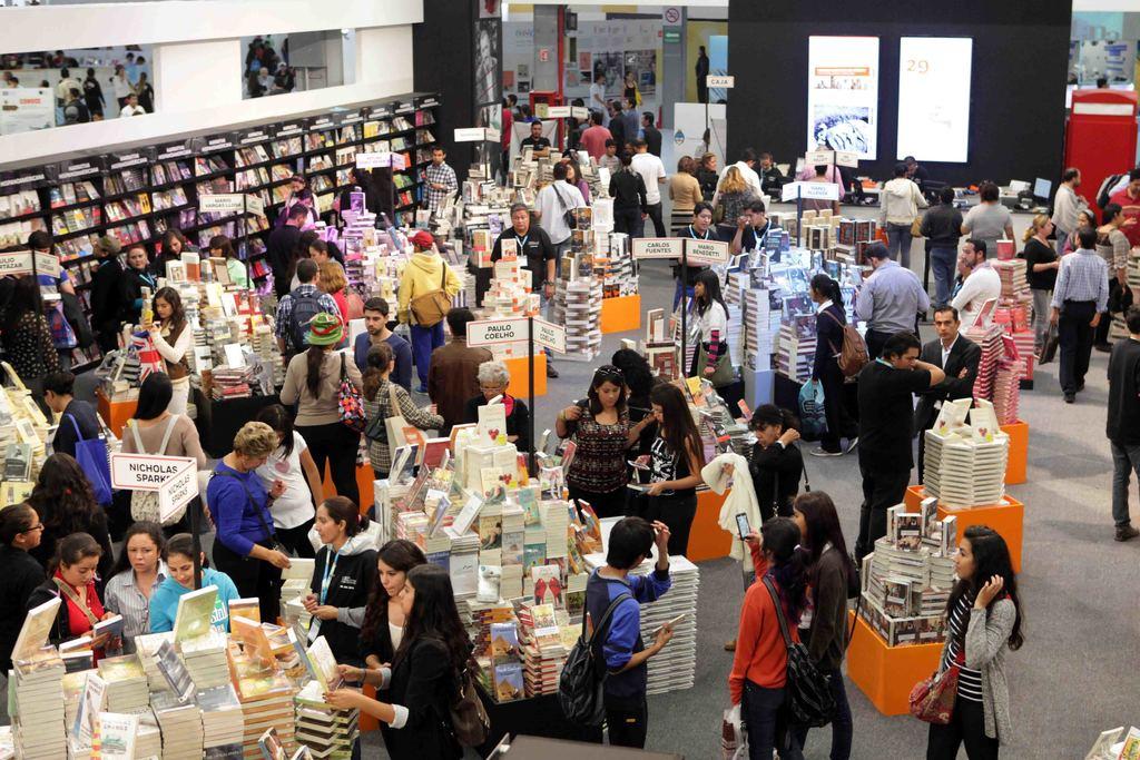 Afluencia del 2019. En su anterior edición, la Feria Internacional del Libro de Guadalajara tuvo más de 842 mil visitantes.