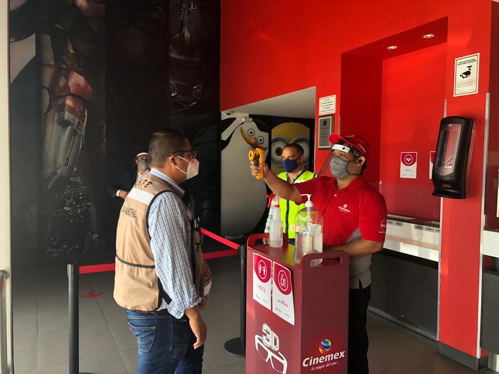 Luis Morales Cortés, coordinador de Control de Padrones de la Secretaría de Finanza del Estado de Coahuila, informó que se trata de los cines de las cadenas Cinépolis y Cinemex los que estarán en dicho piloto. (EL SIGLO DE TORREÓN)