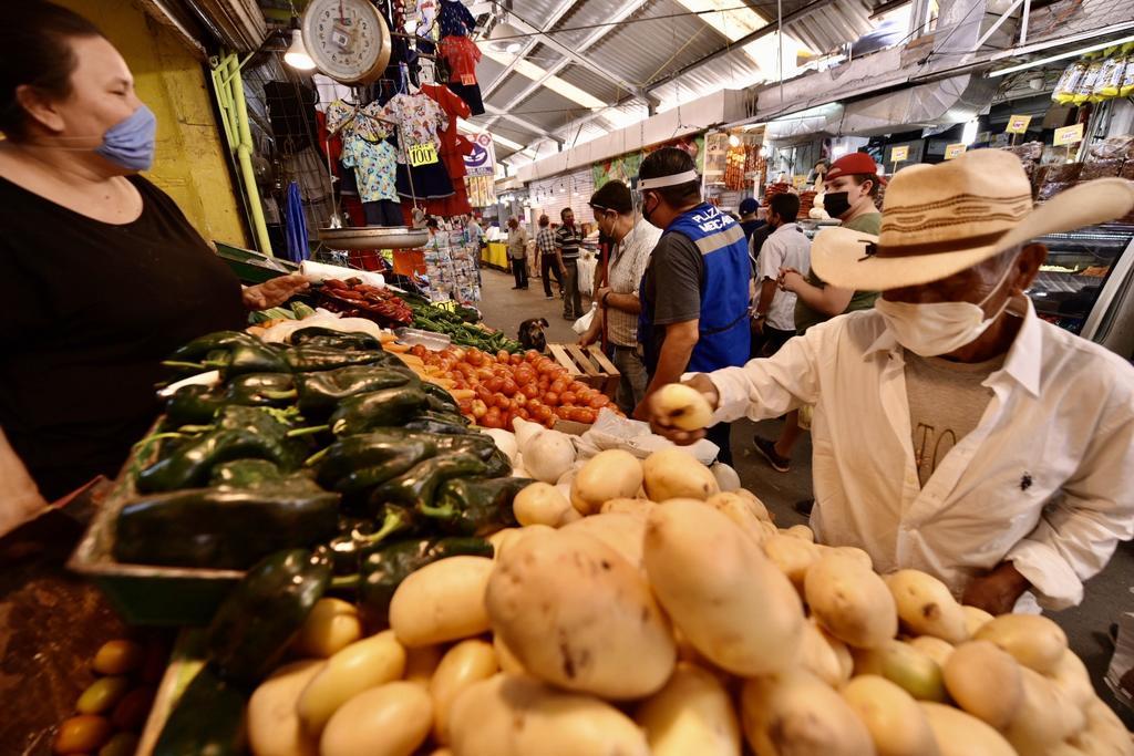 Los precios al consumidor subieron 3.62 por ciento durante julio de este año en relación con el mismo mes de 2019 y fue la mayor inflación desde febrero pasado, cuando entonces se registró un nivel de 3.7 por ciento y la población todavía no entraba en confinamiento por el coronavirus, informó el Inegi.  (ARCHIVO)