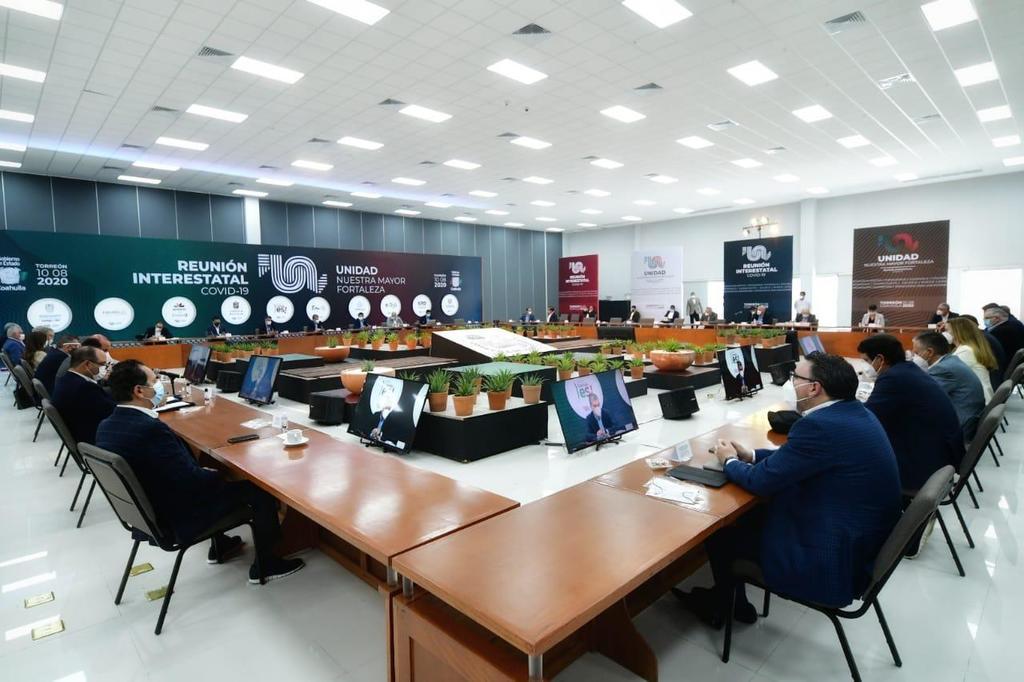 Indicaron también que ese documento será revelado en el transcurso de la semana y se entregará de inmediato a la organización logística de la Conago para que sea contemplado en la próxima reunión, misma que se llevará a cabo en San Luis Potosí. (EL SIGLO DE TORREÓN)