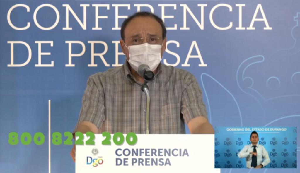 Este martes la Secretaría de Salud de Durango dio a conocer su reporte diario de decesos y contagios por COVID-19 en la entidad. (ARCHIVO)