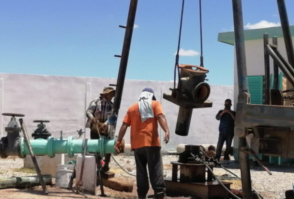 Esta semana, el personal del Sideapa Rural arrancó con los trabajos de mantenimiento y reparación del pozo 22 San Felipe.