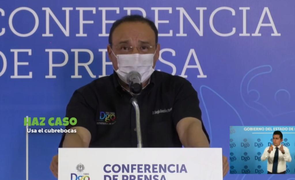 Este miércoles la Secretaría de Salud de Durango dio a conocer su reporte diario de decesos y contagios por COVID-19 en la entidad. (ESPECIAL)