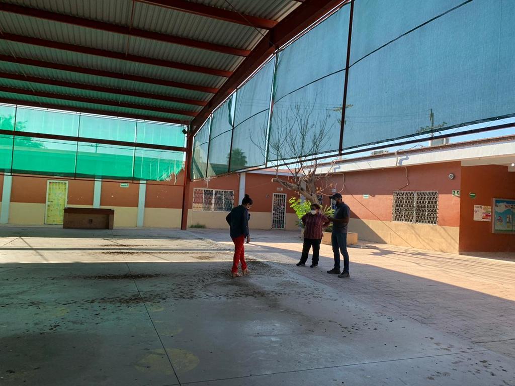 Los directivos de la escuela acudieron ante el MP a presentar la denuncia correspondiente y solicitaron más rondines por el lugar. (EL SIGLO DE TORREÓN)