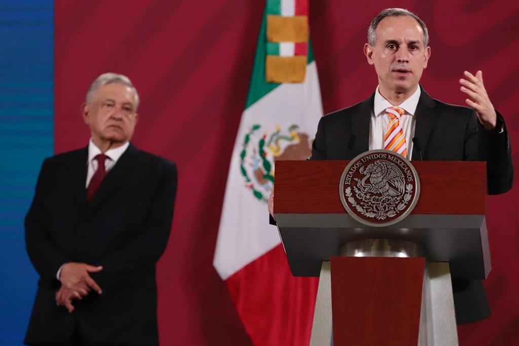 López-Gatell indicó que Coahuila tuvo una exacerbación de casos hasta la semana 30, pero actualmente tiene una reducción que se ha mantenido, lo cual es